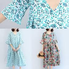 blue print size 2017 blue print linen dresses plus size casual maxi dress u2013 soolinen