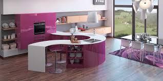 cuisine arrondi enchanteur plan de travail violet avec plan de travail cuisine
