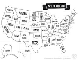 us map outline image us map with states labeled inside united outline justinhubbard me