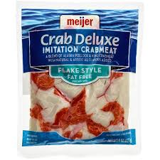 Meijer Home Decor Meijer Crab Deluxe Imitation Crabmeat Flake Style 8 Oz Meijer Com