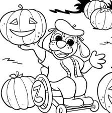 halloween coloring pages pumpkins orange dogs pido raggs