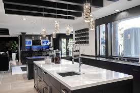 Black And White Contemporary Kitchen - brighten your kitchen with sparkling white quartz countertop