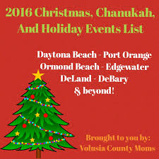 christmas and holiday events in volusia county daytona beach