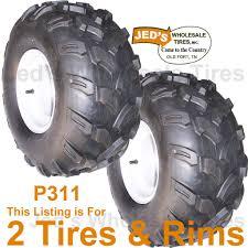 Golf Cart Off Road Tires 2 20x9 50 8 20 9 50 8 Golf Cart Go Kart Tires Rims Wheel 4ply