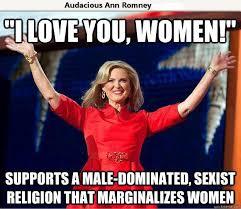 Sexist Meme - mormon religion sexist politicalmemes com