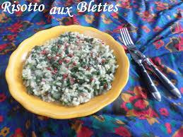 cuisiner blettes risotto aux feuilles de blettes la cuisine de quat sous