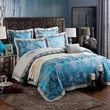 Embroidered Bedding Sets Zangge Bedding Luxury Satin Jacquard Embroidered Bedding Sets