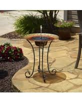 wilson and fisher solar lighted bird bath memorial day shopping season is upon us get this deal on wilson