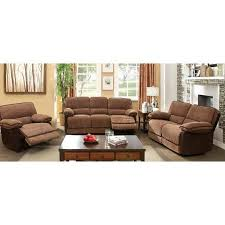 Fabric Recliner Sofa by Buy Furniture Of America Glen 3 Piece Chenille Fabric Recliner