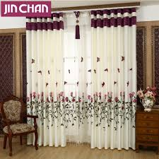 Fabric Window Shades by Online Get Cheap Butterfly Window Treatments Aliexpress Com