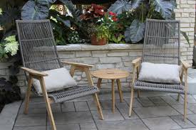 Toddler Outdoor Lounge Chair Bay Isle Home Kennebunkport Teak And Wicker Basket Lounge Chair