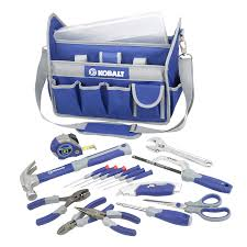 shop kobalt 22 piece tool bag set at lowes com tools pinterest