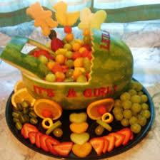 edible fruit baskets baby shower fruit basket baby showers ideas
