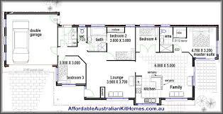 4 bedroom home design plan