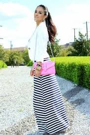 maxi dress paired with blazer