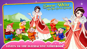 snow white 7 dwarfs story book android apps google play