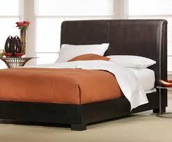 brown leather headboard king in iemg info plan 4 with regard to