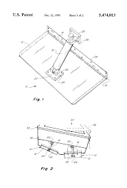 patent us5474013 trim tab auto retract and multiple switching