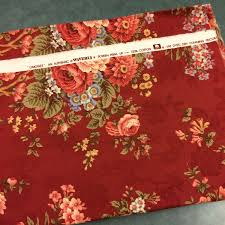 burgundy upholstery fabric floral home decor fabric victorian