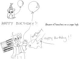 drawing in birthday card 2012 by outlire on deviantart