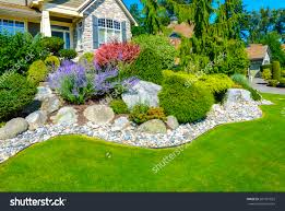 front yard landscape front yard landscaping designs brick house