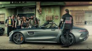 mercedes ads 2016 super bowl 2017 mercedes amg gt c roadster born to be wild youtube