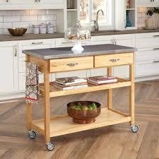 sur la table kitchen island wood kitchen island cart butcher block table microwave rolling