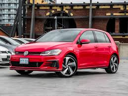 volkswagen gti used 2018 volkswagen gti autobahn demo for sale in toronto