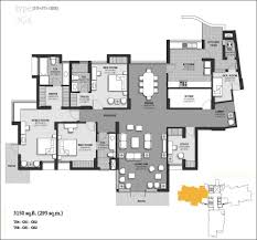 dlf new town heights floor plan 4 floor plan jpg