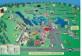 Letchworth State Park Map by African Safari Park Map 2011 World Traveled Family