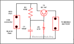 usb mobile charger circuit usb charger and mobiles