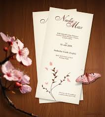 marriage invitation card design 43 wedding card templates free printable sle exle