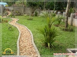 Landscaping design ideas Kerala home design and floor plans