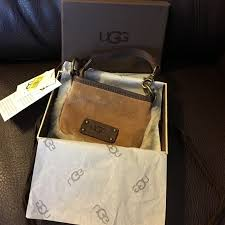 ugg wallet sale 61 ugg handbags sale authentic ugg wrist nwt from kris s