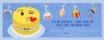 invitation for birthday themesflip