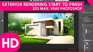 how to become architect ᴴᴰ exterior rendering start to finish