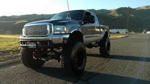 Ford F250 Tri Flex Fuel Truck - 2002 ford f250 superduty lifted 7 3l diesel monster mudder