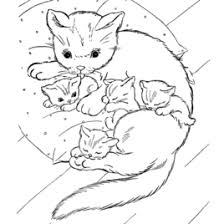 coloring pages kitten cat kids drawing and coloring pages marisa