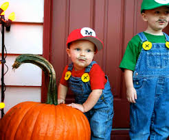 mario costumes for halloween the super mario brothers