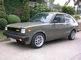 mitsubishi fiore hatchback winstar 1980 toyota starlet specs photos modification info at