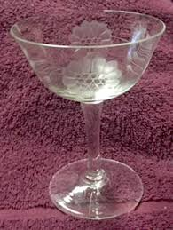 Hughes Cornflower Crystal Cordials Hughes W J Cornflower Smooth Stem Non Optic At Replacements