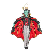radko 1017860 just hangin around halloween dracula ornament