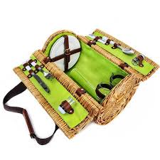 wine basket picnic wine basket set of 10 13 x 9 x 9 in