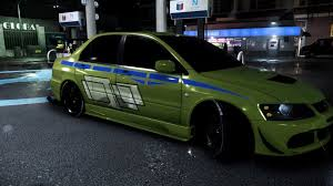 fast and furious evo nfs 2015 mitsubishi evo 2 fast 2 furious 6 by dazkrieger on deviantart
