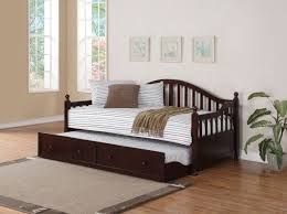 coaster 300090 youth cappuccino twin daybed with trundle