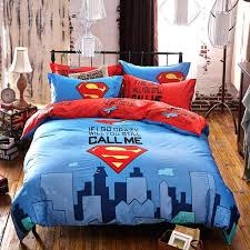 Argos Duvet Superman Spiderman Batman Bedding 3 4pcs Duvet Cover Set King