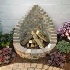 Chimney Style Fire Pit by How To Be Creative With Stone Fire Pit Designs Backyard Diy
