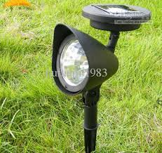 Brightest Solar Landscape Lighting - solar garden spotlights interior design