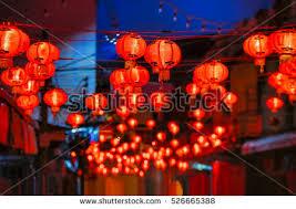 lanterns new year new year lanterns china town stock photo 526665388