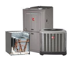 rheem 3 5 ton 14 seer ac system with 80 100k btu natural gas